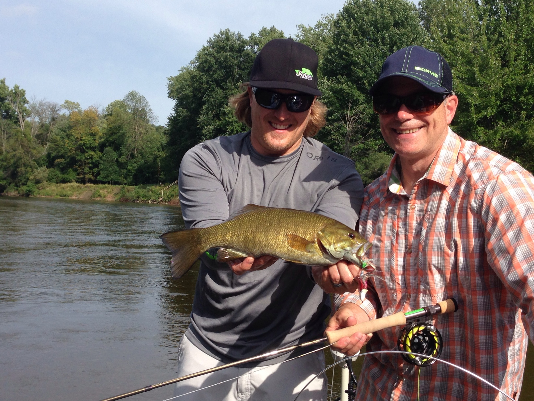 Riverquest charters mi orvis dealers the new recon for Orvis fishing report