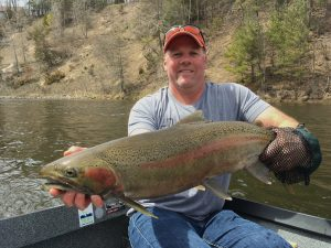Steelhead fly rodding